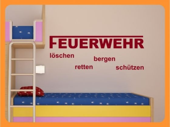 feuerwehr kinderzimmer gestalten. Black Bedroom Furniture Sets. Home Design Ideas