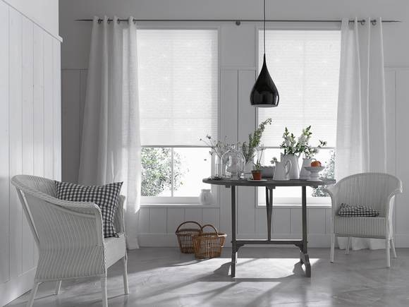 gardinen idee wohnzimmer. Black Bedroom Furniture Sets. Home Design Ideas