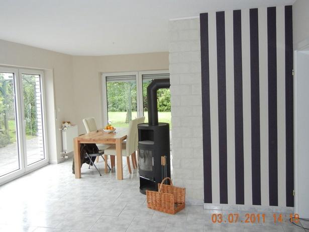 Gestaltung von wohnzimmern for Raumgestaltung querstreifen