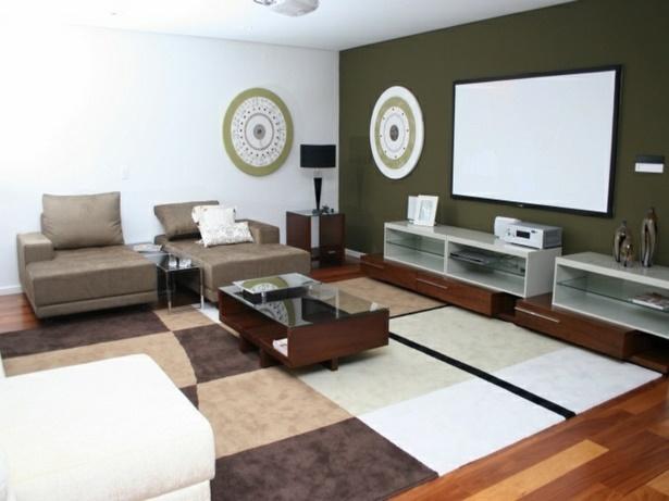 Gestaltung wohnzimmer farbe for Wohnzimmer beispiele gestaltung