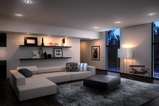 Gro es wohnzimmer modern einrichten for Moderne wohnzimmer