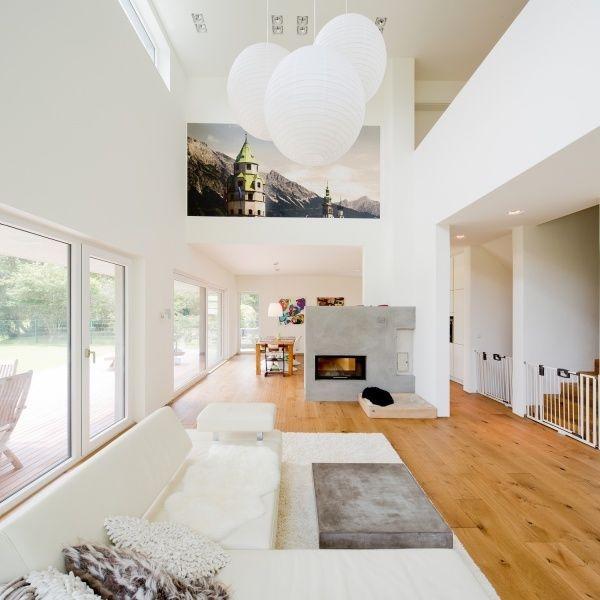 Großes wohnzimmer modern einrichten
