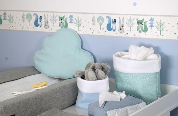 ideen babyzimmer deko. Black Bedroom Furniture Sets. Home Design Ideas