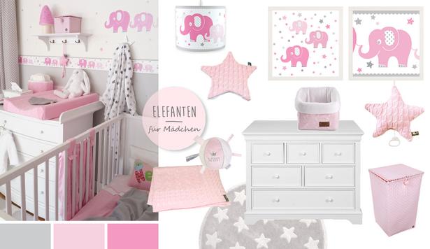 ideen babyzimmer m dchen. Black Bedroom Furniture Sets. Home Design Ideas