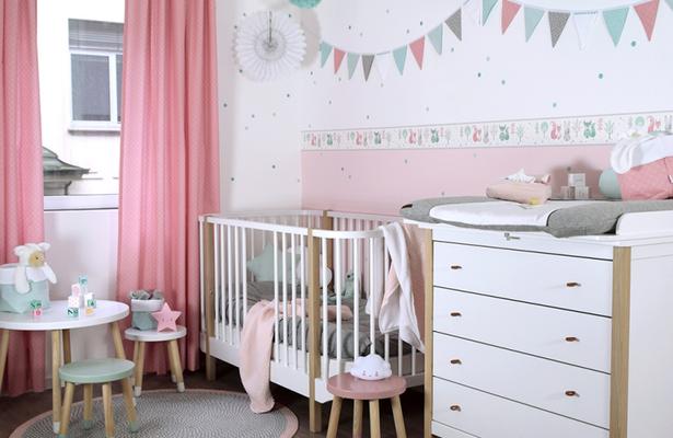 Ideen für babyzimmer wandgestaltung