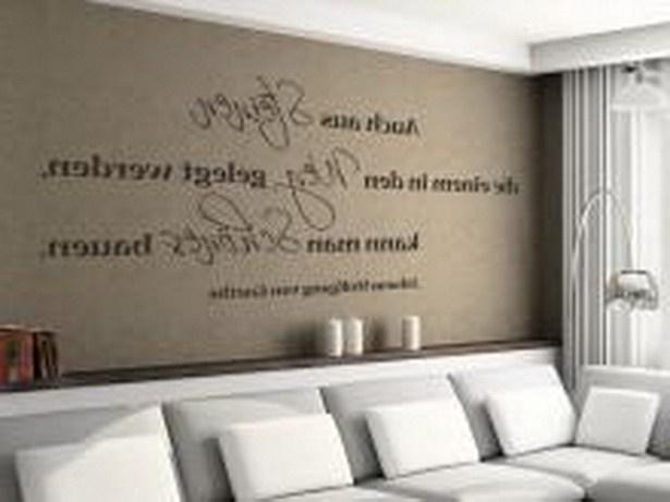 ideen f252r w228nde im wohnzimmer
