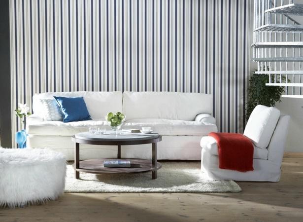 Wohnzimmer Ideen Tapezieren ~ Die Besten Einrichtungsideen Und