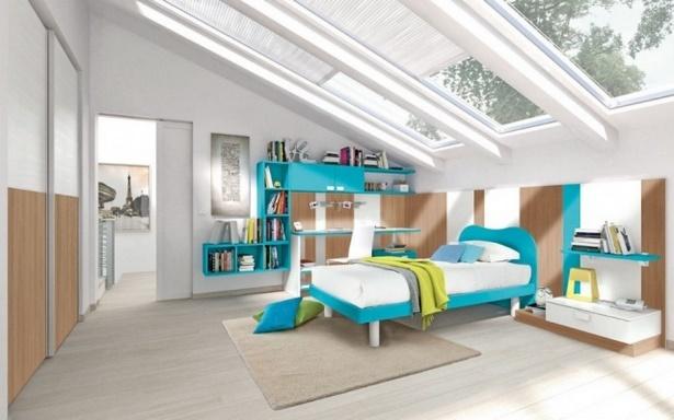 Jugendzimmer dachschräge einrichten