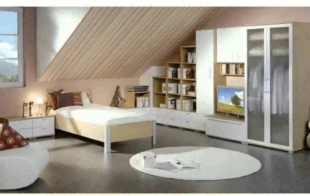 Jugendzimmer einrichten dachschräge