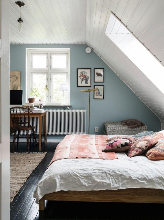 Zimmer Mit Dachschräge Streichen