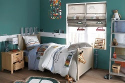 jugendzimmer gardinen jungen. Black Bedroom Furniture Sets. Home Design Ideas