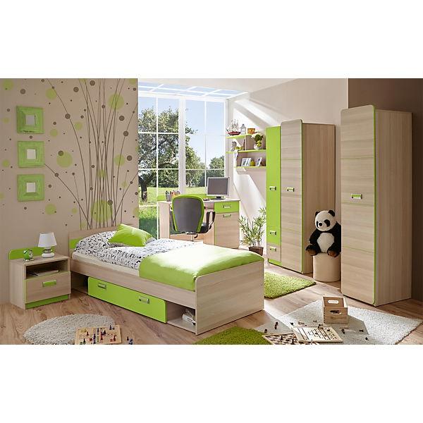 Jugendzimmer Grau Grün