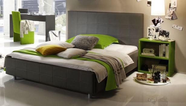 jugendzimmer grau gr n. Black Bedroom Furniture Sets. Home Design Ideas