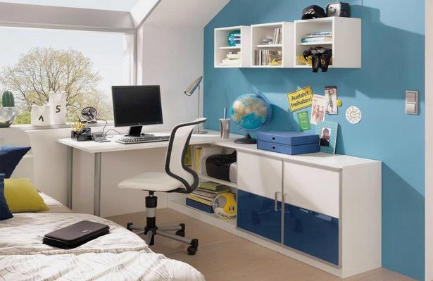 Jugendzimmer in blau for Jugendzimmer colori