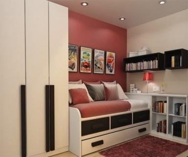 jugendzimmer kleiner raum. Black Bedroom Furniture Sets. Home Design Ideas