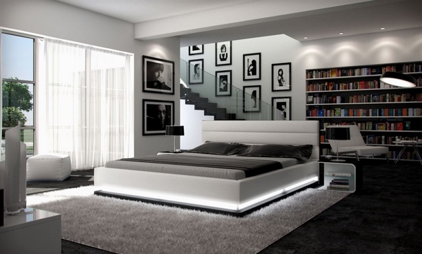 jugendzimmer mit doppelbett. Black Bedroom Furniture Sets. Home Design Ideas