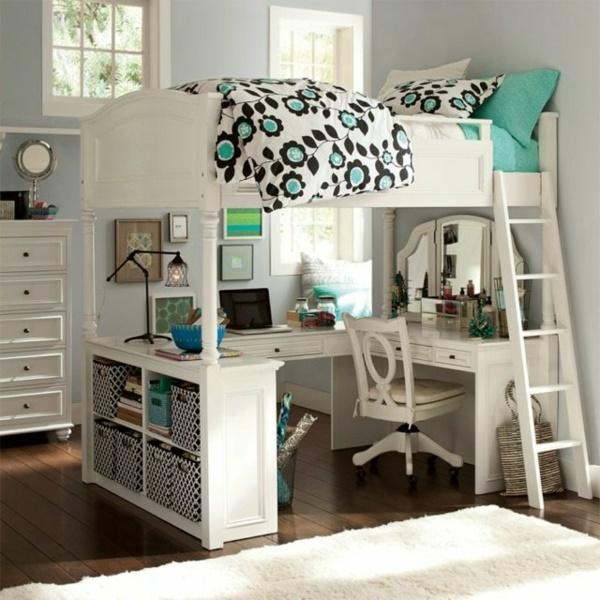 Jugendzimmer mit hochbett gestalten for Jugendzimmer hochbett schreibtisch