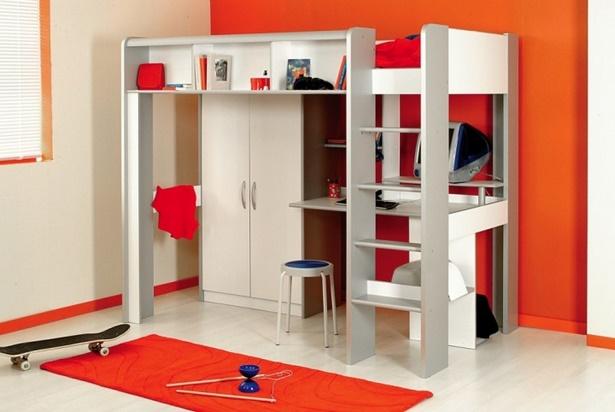 kinderbett mit schreibtisch und kleiderschrank. Black Bedroom Furniture Sets. Home Design Ideas