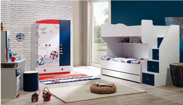 kinderzimmer 3 betten. Black Bedroom Furniture Sets. Home Design Ideas