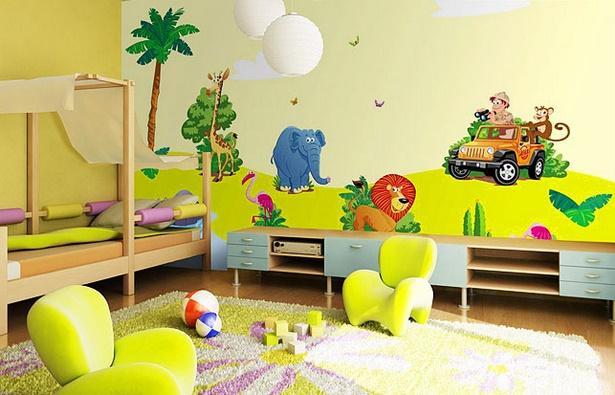 kinderzimmer dschungel deko. Black Bedroom Furniture Sets. Home Design Ideas