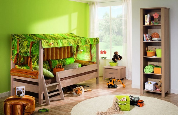 kinderzimmer dschungel deko. Black Bedroom Furniture Sets. Home Design Ideas