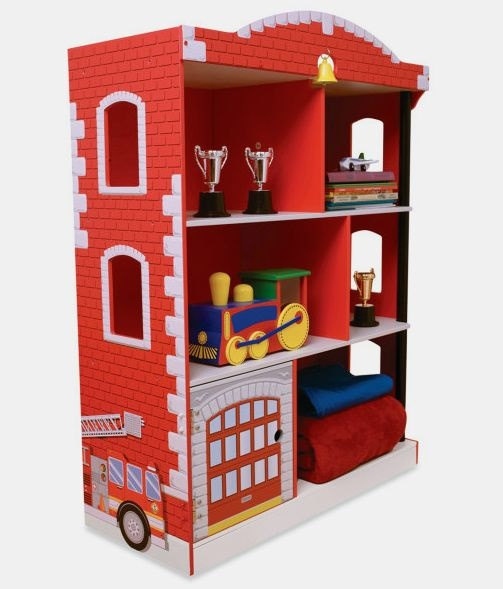 kinderzimmer feuerwehr deko. Black Bedroom Furniture Sets. Home Design Ideas