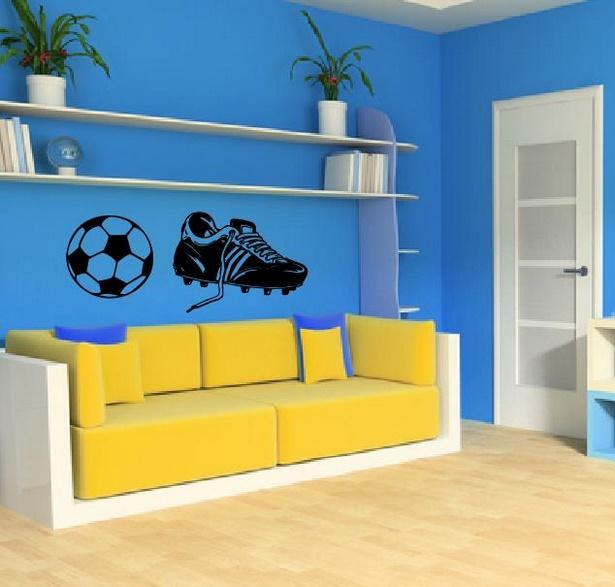 kinderzimmer fussball deko. Black Bedroom Furniture Sets. Home Design Ideas