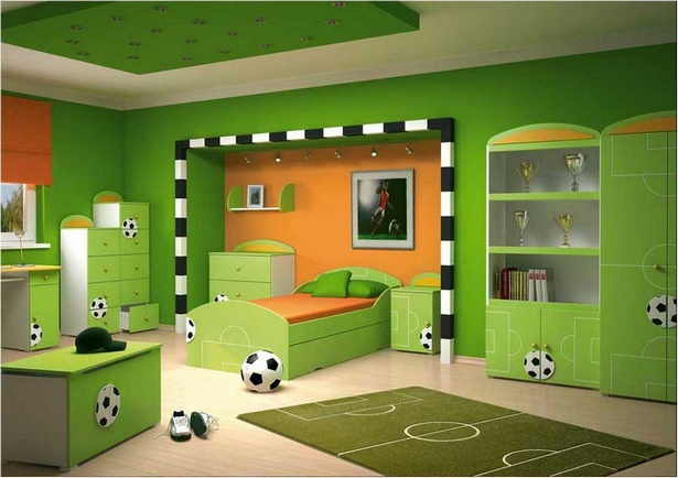 kinderzimmer fussball deko. Black Bedroom Furniture Sets. Home Design Ideas