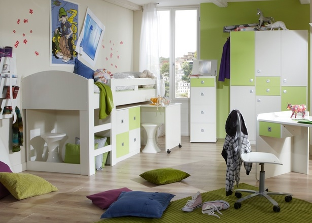 kinderzimmer hochbett komplett. Black Bedroom Furniture Sets. Home Design Ideas