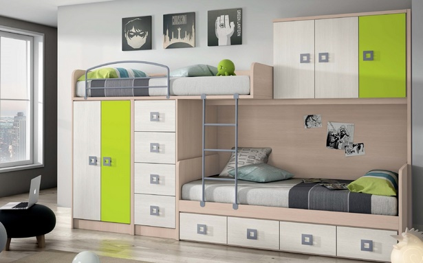 kinderzimmer komplett mit etagenbett. Black Bedroom Furniture Sets. Home Design Ideas