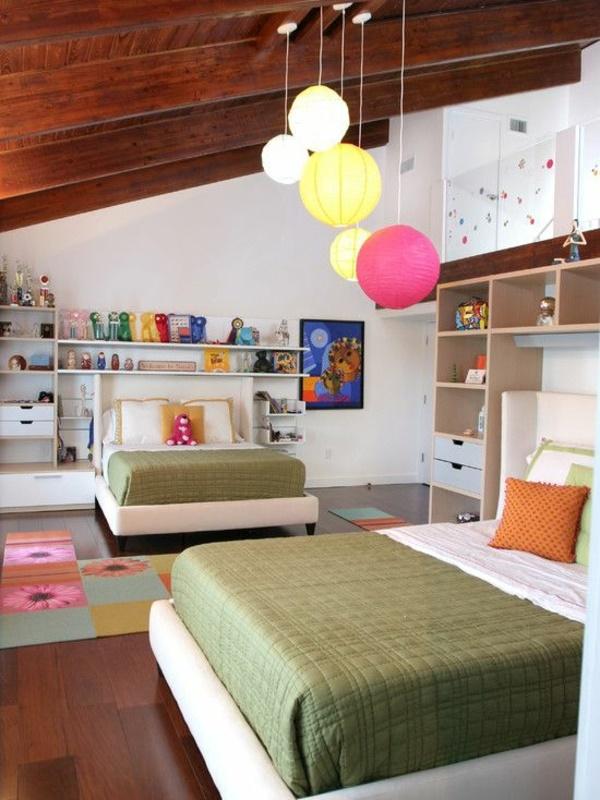 Kinderzimmer mit 2 betten for Jugendzimmer 2 betten