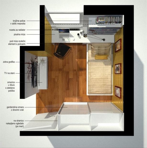 Kleine Räume Einrichten Jugendzimmer