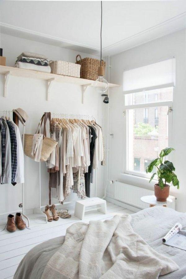kleines schlafzimmer kleiderschrank. Black Bedroom Furniture Sets. Home Design Ideas