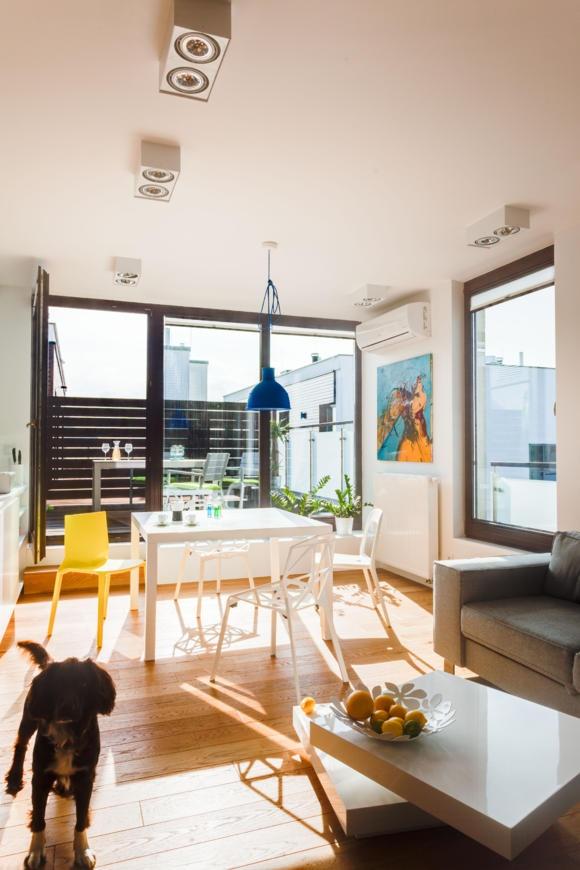 Kleines wohnzimmer mit essbereich gestalten for Idee wohnzimmer einrichten