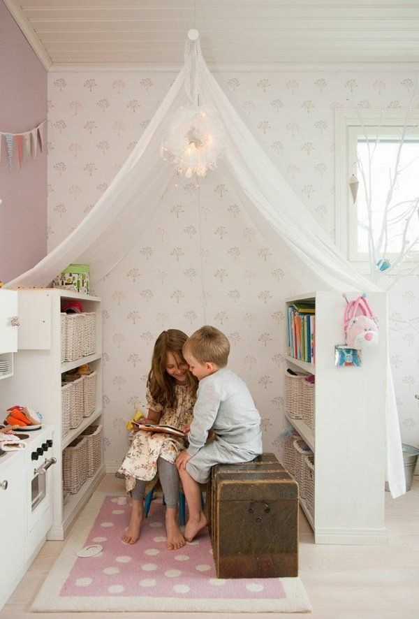 kuschelecke kinderzimmer ideen. Black Bedroom Furniture Sets. Home Design Ideas