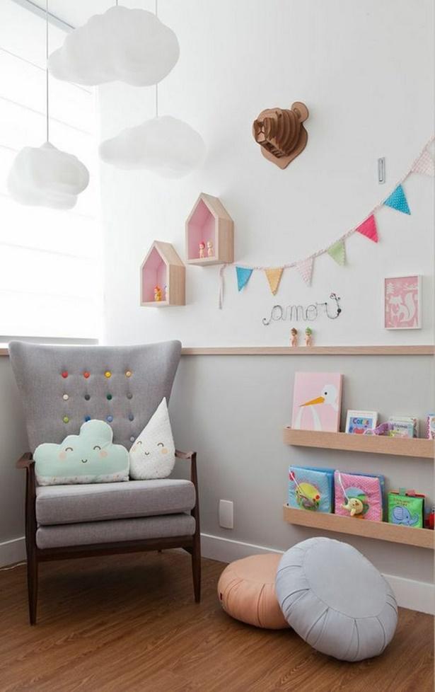 Kuschelecken kinderzimmer gestalten - Kinderzimmer bunt gestalten ...