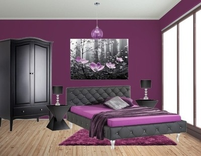 lila schlafzimmer ideen. Black Bedroom Furniture Sets. Home Design Ideas