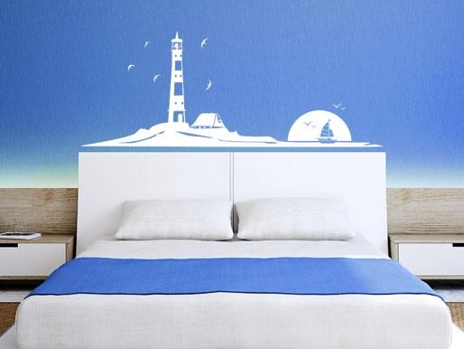 Maritimes schlafzimmer einrichten - Dekoration maritim ...