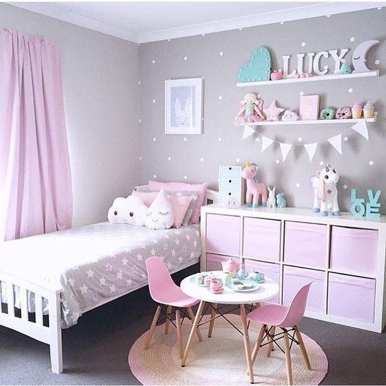 M dchen kinderzimmer deko for Zimmer deko dachschrage