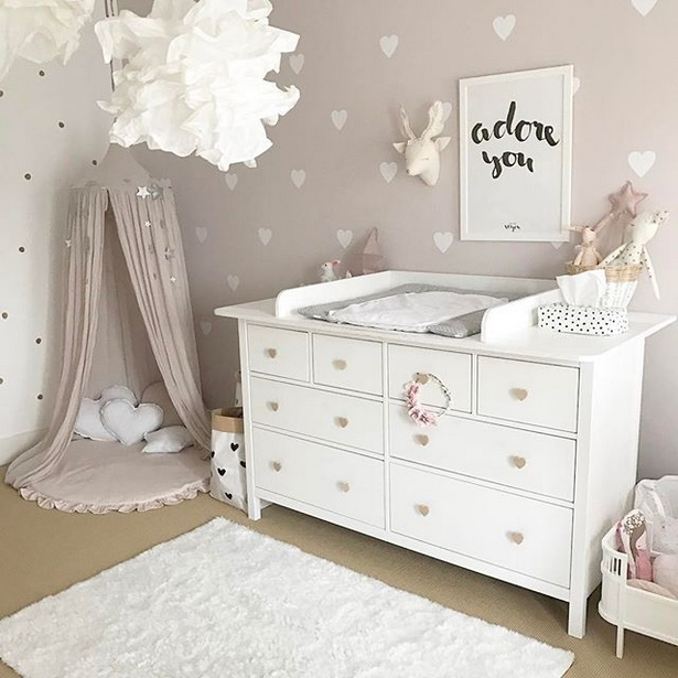 M dchen zimmer baby - Tapete babyzimmer ...