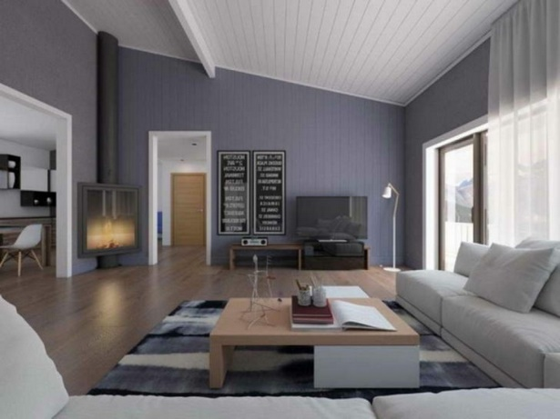 moderne farben wohnzimmer wand. Black Bedroom Furniture Sets. Home Design Ideas