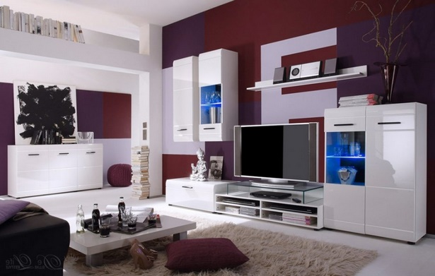moderne farben wohnzimmer wand. Black Bedroom Furniture Sets. Home Design Ideas
