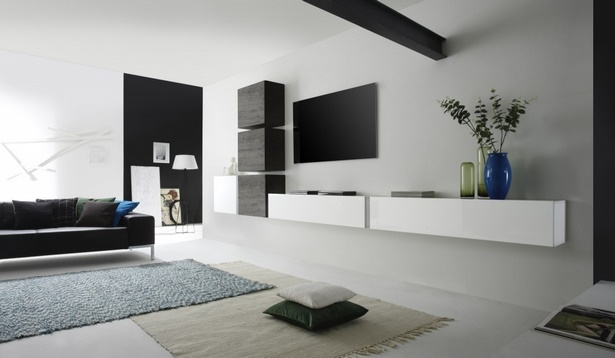 raumgestaltung schwarz weis wohnzimmer. Black Bedroom Furniture Sets. Home Design Ideas
