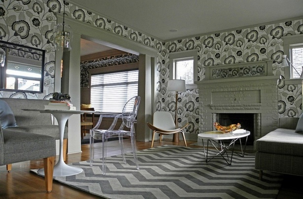 muster w nde wohnzimmer. Black Bedroom Furniture Sets. Home Design Ideas