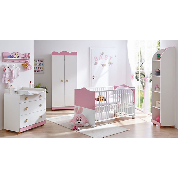 prinzessin babyzimmer komplett. Black Bedroom Furniture Sets. Home Design Ideas