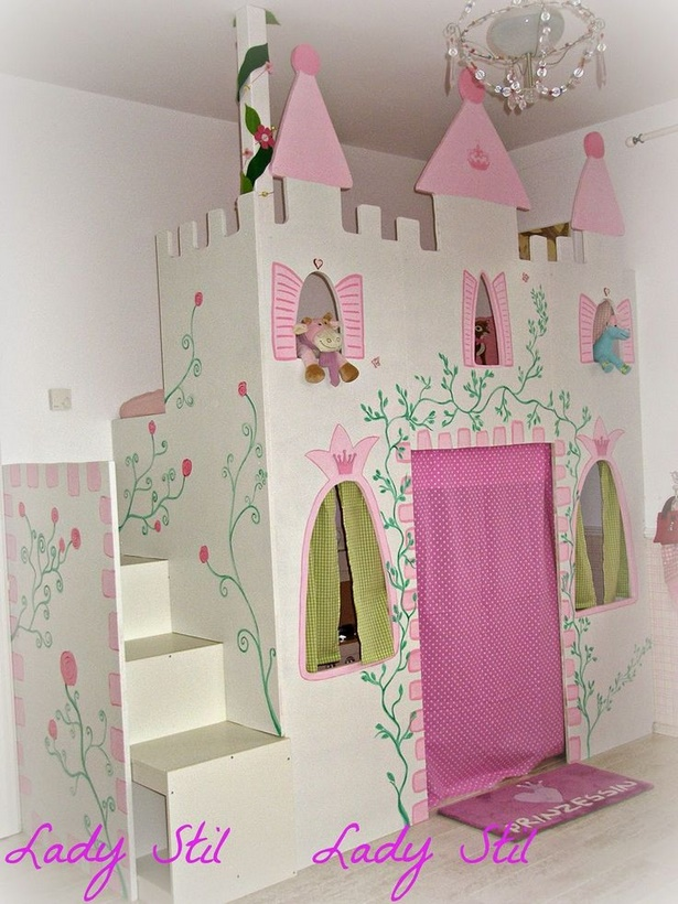 Prinzessin kinderzimmer komplett for Kinderzimmer 7 5 m2
