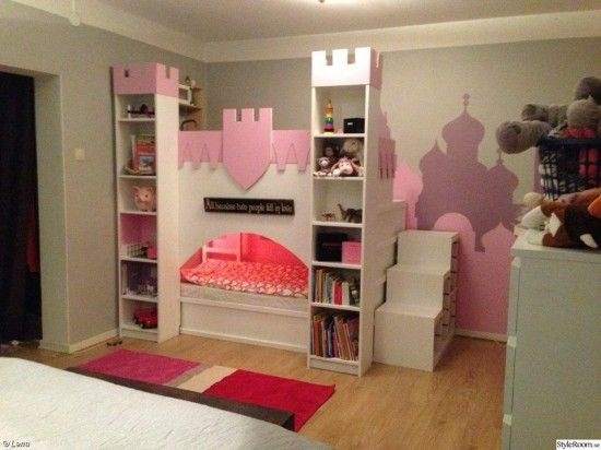 prinzessin zimmer komplett. Black Bedroom Furniture Sets. Home Design Ideas