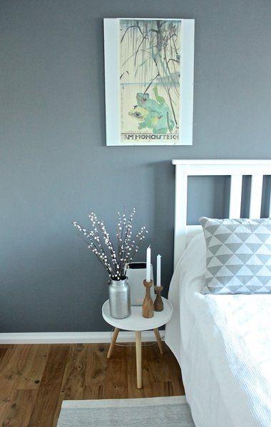 Raumgestaltung farbe schlafzimmer - Wandfarbe purpur ...