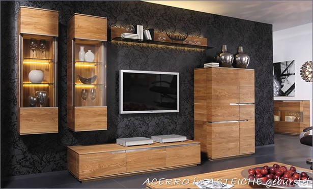 rustikale m bel wohnzimmer. Black Bedroom Furniture Sets. Home Design Ideas
