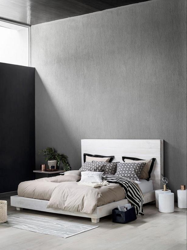 Schlafzimmer gestalten grau wei - Wohnzimmer gestalten schwarz weis ...